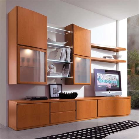 mobili a parete per soggiorno arredaclick parete attrezzata in ciliegio bellezza