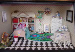 Alice In Wonderland Bedroom Alice In Wonderland Themed Bedroom Room Box By Myminiworld