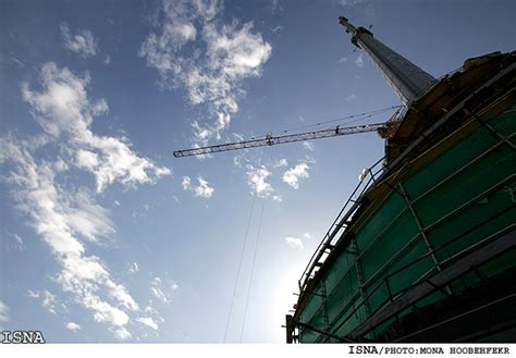 435 meters to feet tehran s milad tower opens