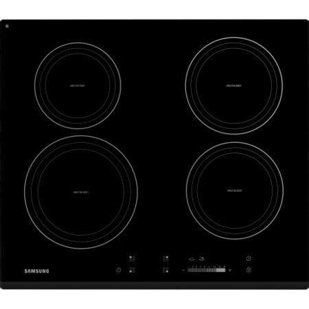 induction hob large zone samsung ctn464kb01 58cm wide 4 zone induction hob black appliances direct