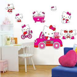 hello kitty stickers for bedroom walls aliexpress com buy children s room wall stickers
