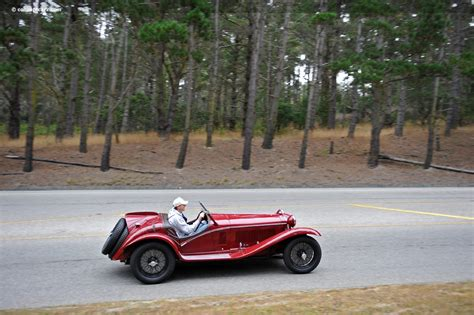 Alfa Romeo 8c 2300 by 1933 Alfa Romeo 8c 2300 At The Pebble Concours D