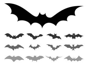 Bat Outline Vector by Bat Silhouettes