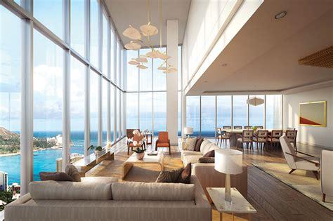 ritz carlton residences waikiki 2 bedroom suite luxury penthouse on waikiki beach lists for 25 million