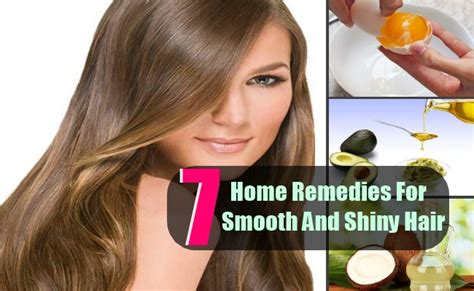 7 top home remedies for smooth and shiny hair care