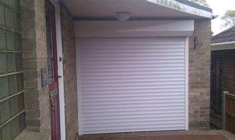 roller garage door with external box garage door company