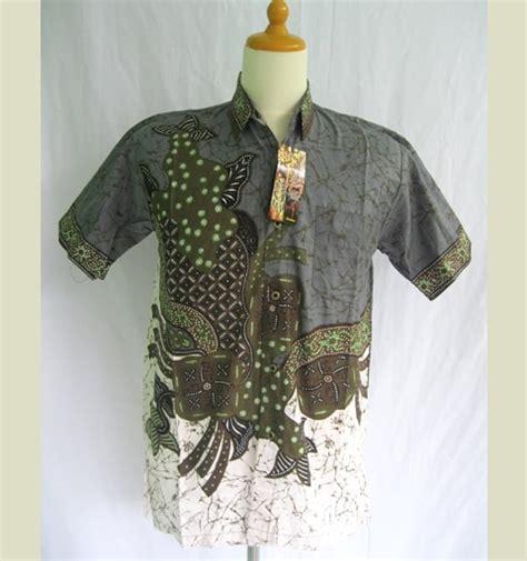 Kemeja Batik Coklat Formal Cowok Pria kemeja batik pria modern modern batik sekar