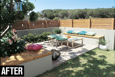 Kitchen Makeovers Ideas create a corner courtyard australian handyman magazine
