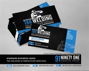 welding business cards business card ninety one design