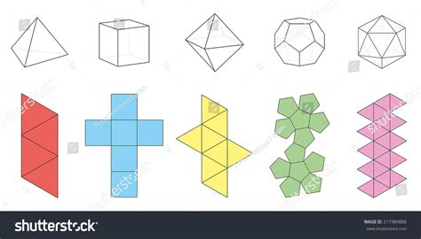 www geometry five platonic solids three dimensional figures and