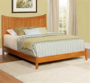 King Size Platform Bed Manhattan Wood Platform Bed King Size