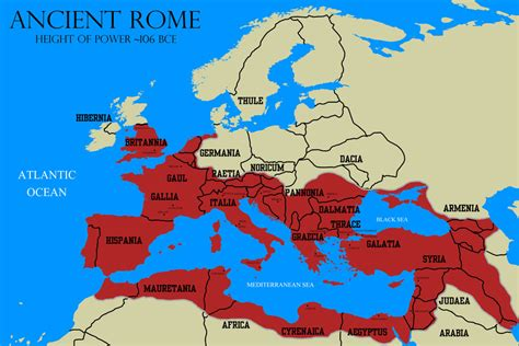 political map of rome political boundaries ancient rome