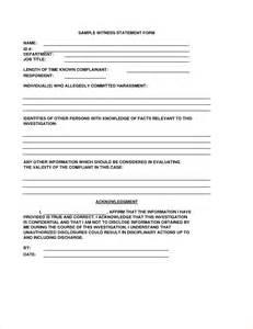 Witness Statement Template by Witness Statement Template Mcarthur Pdf Pdfeports173 Web