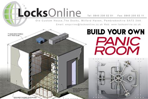 how to build your house build your own panic room with locksonline locks online