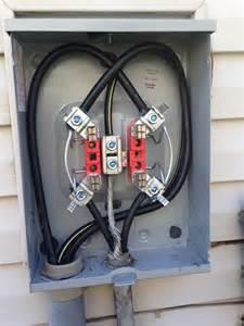 sunken meter wire repair