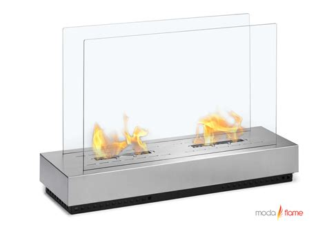 Ethanol Freestanding Fireplace by Moda Braga Free Standing Floor Indoor Outdoor Ethanol Fireplace Ebay