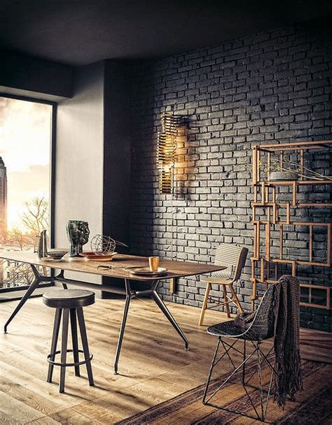 exposed brick wall lighting add warmth and coziness to your home with exposed brick walls