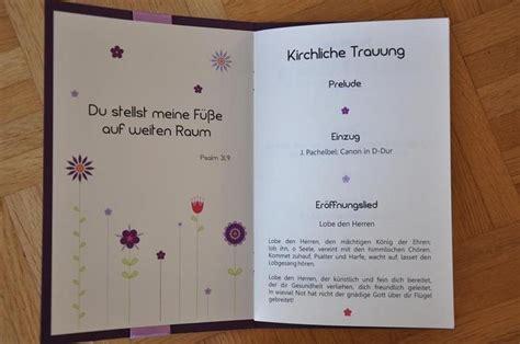 Word Vorlage Programmheft Kirchenheft Schriftart Wedding