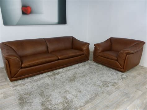 natuzzi editions 3 seater sofa and armchair