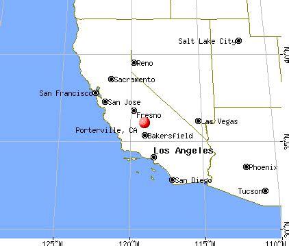 porterville california map opinions on porterville california