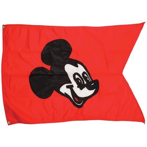 Banner Flag Mickey Segitiga Merah Bunting Flag Mickey Segitiga Merah mickey mouse flag that hung above walt disney world station