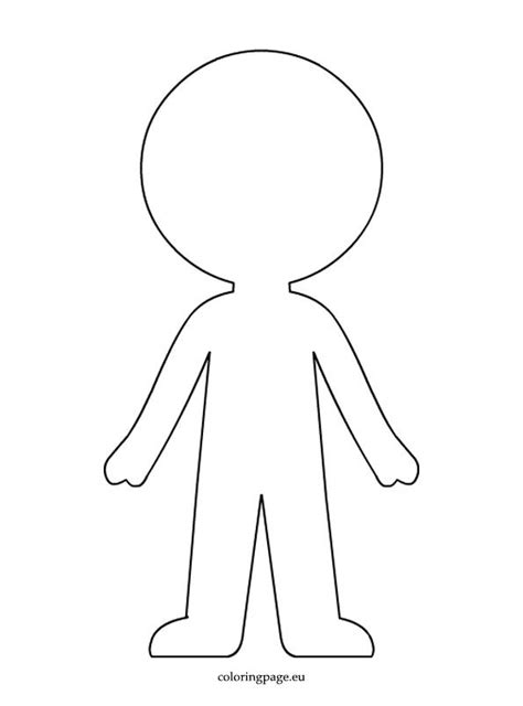 paper doll template boy paper doll template coloring page clipart paper