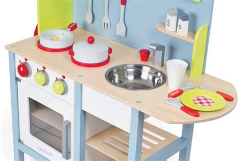 Janod Kitchen by Janod Picnik Play Kitchen And Cooking Accessories
