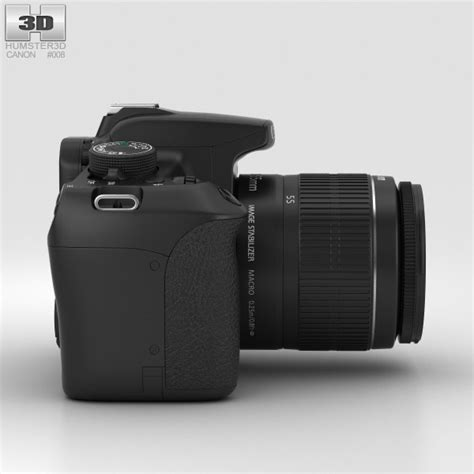 canon model canon eos rebel t5 3d model hum3d