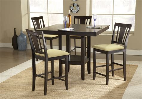 how tall is a dining room table height dining table hilale arcadia counter height dining