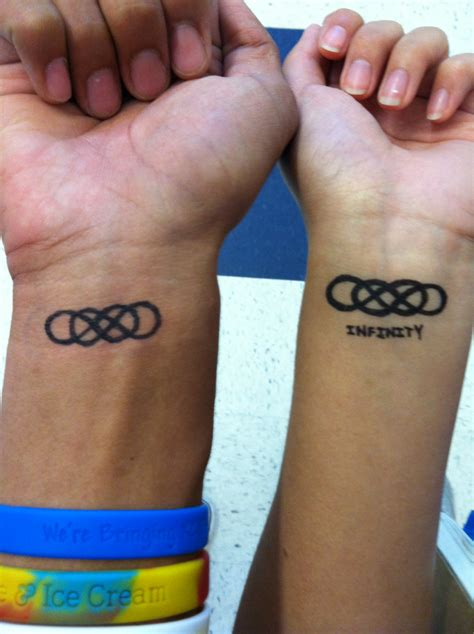 double infinity tattoos 28 memorable infinity symbol designs slodive