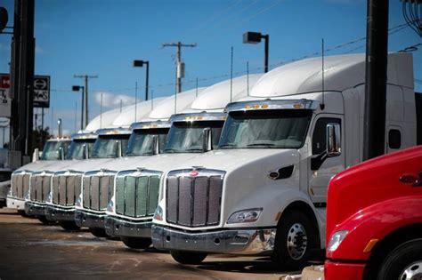 sales downshift  heavy truck makers wsj