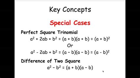 Factoring Special Cases Worksheet by Factoring Special Cases Worksheet Lesupercoin Printables