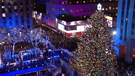 watch live the rockefeller center christmas tree nbc 6