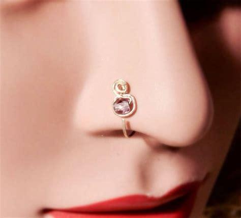 simple nose ring designs for www pixshark