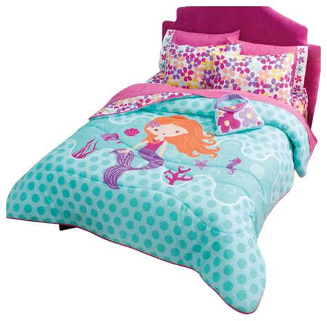 Mermaid Comforter Set Twin Comforters And Comforter Mermaid Bedding Set