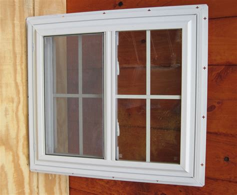 Shed Window by Atlantic Shed Shed And Playhouse Vinyl Windows