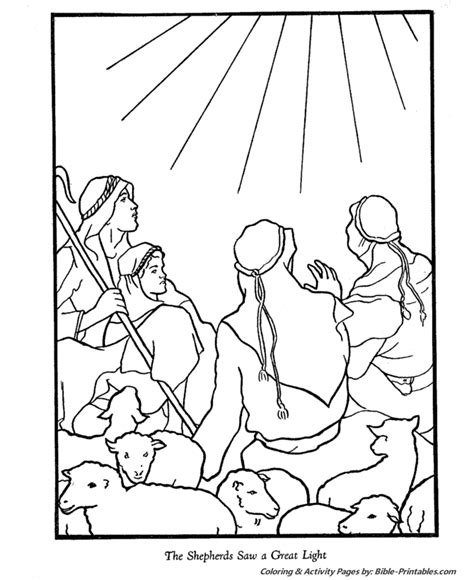 Christmas Nativity Angels Coloring Search Results Nativity Story Coloring Pages