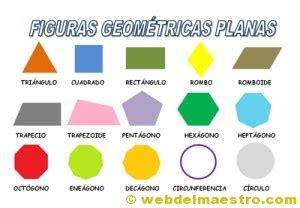 figuras geometricas no planas figuras planas los colorines
