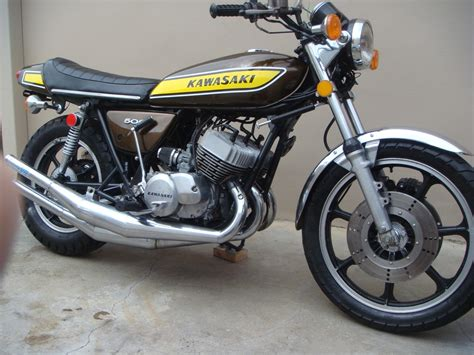 Kawasaki 500 For Sale by 1975 Kawasaki 500 H1f 2 Stroke Cafe Racer For Sale