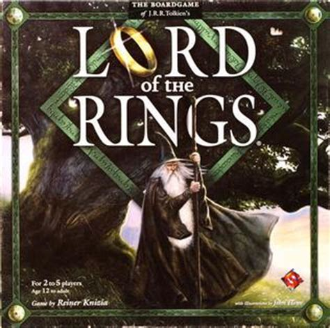 Lord Of The Rings The Confrontation 2013 Edition Original lord of the rings board