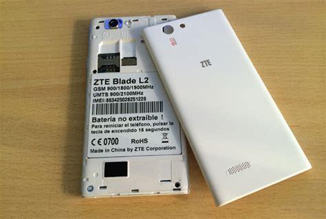 imagenes para celular zte blade l2 zte blade l2 lo hemos probado tuexperto com