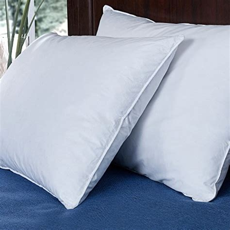 white bed pillows puredown down and feather bed pillow white set of 2