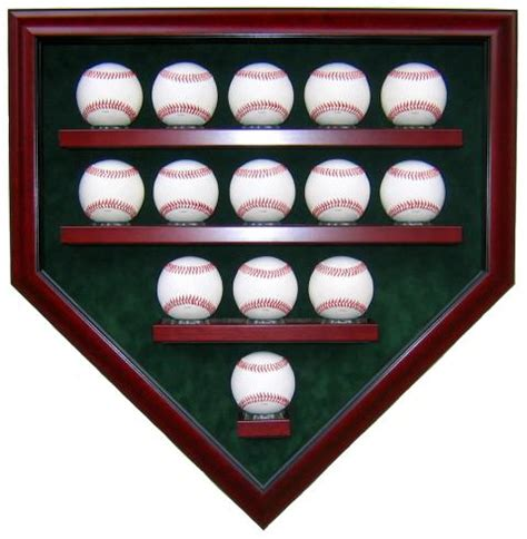 Rawlings Baseball Chair by 14 Baseball Display Case Homeplate Shape High Quality
