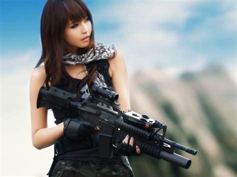 wallpaper punjabi girl with gun sexy japanese female woman women wallpaper yahoo image