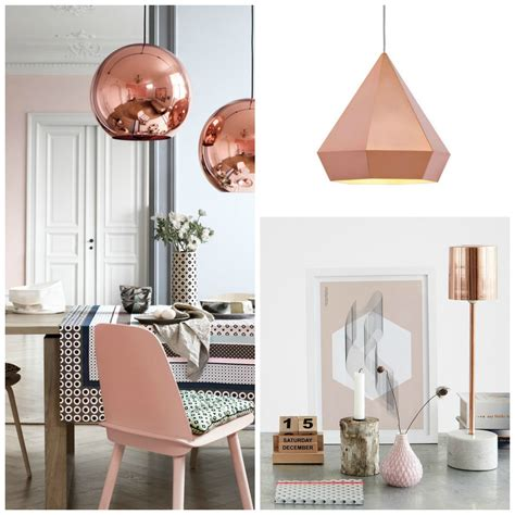 rose gold light fixture theory of design copper rose gold