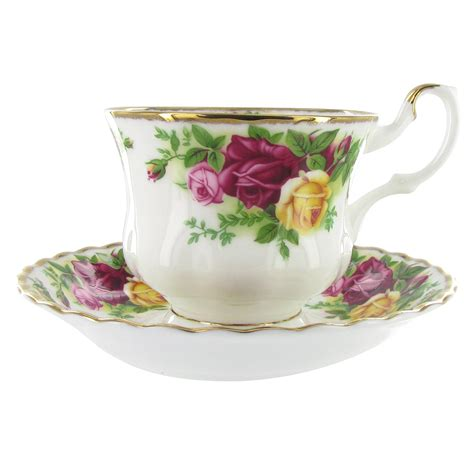 rose royal royal albert china teacup and saucer old country roses