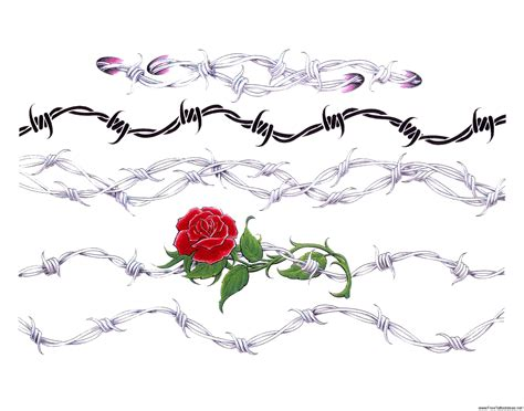 barbed wire heart tattoo designs armband tattoos