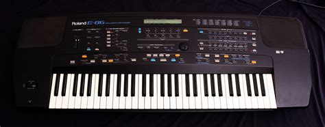 Keyboard Roland E Series keyboard demo 187 archive 187 roland e 86