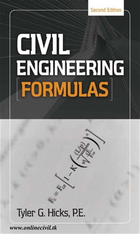 free water engineering books pdf civil engineering formulas book free
