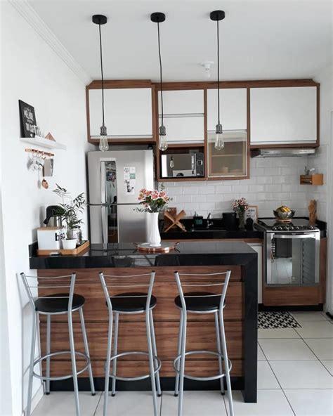 cozinha americana pequena  modelos  se inspirar fotos
